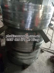 Nguyên liệu tôn kẽm sản xuất frame tie