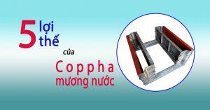 Coppha mương nước