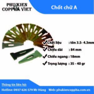 Chốt A công ty Cốp Pha Việt