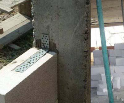 Ứng dụng neo tường vào cột
