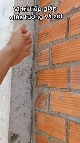 Ứng dụng của thép râu chống nứt tường