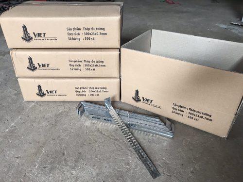 Ứng dụng của thép râu chống nứt tường trong xây dựng| Thép râu tường |