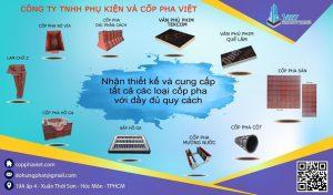 Các loại ván khuôn tại Cốp Pha Việt